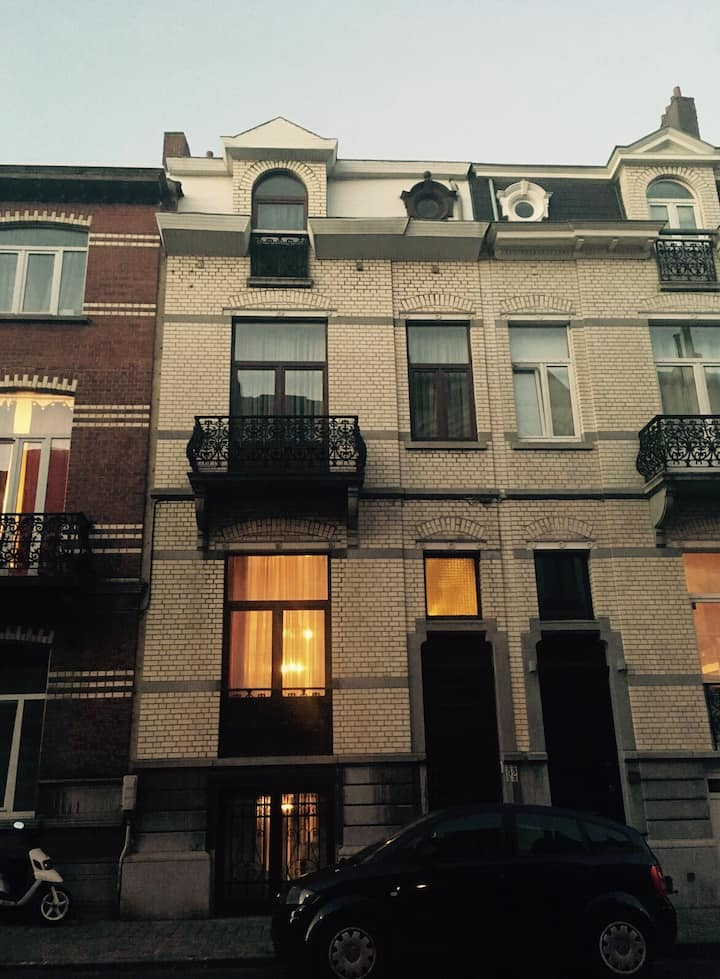 House in the place to be of EU area of Etterbeek