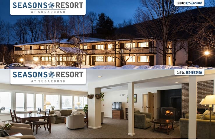Studio Apt. at the Seasons Resort at Sugarbush - Warren