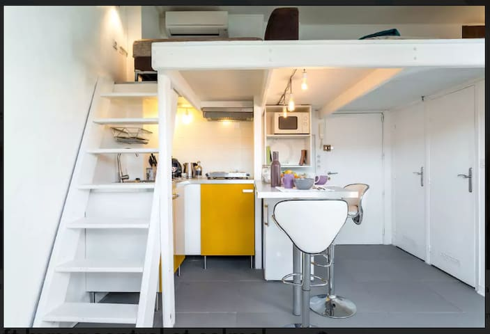 Studio Loft Hyper Centre au calme