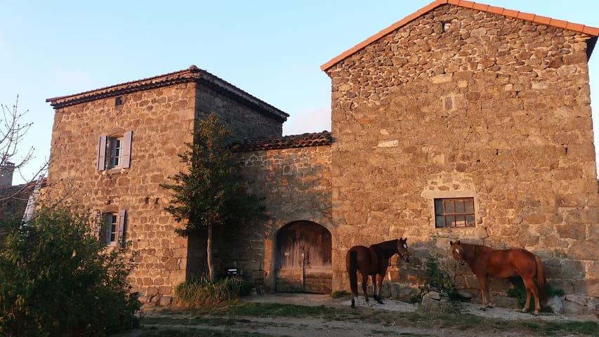 Étape cavalière du Balayn