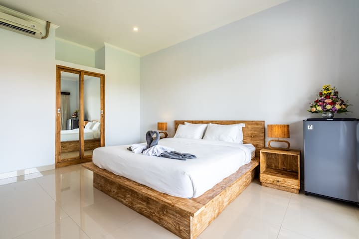 #D Stylish 1BD spacious close to Canggu Beach Club