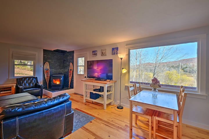 Stratton Mountain Home w/ View - 2 Mi to Ski Lift!