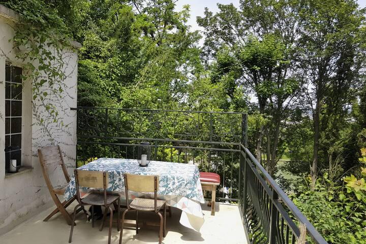 Grande Terrasse vue sur La Marne proche Paris !