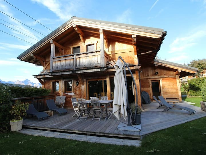 Wooden Chalet in Megeve