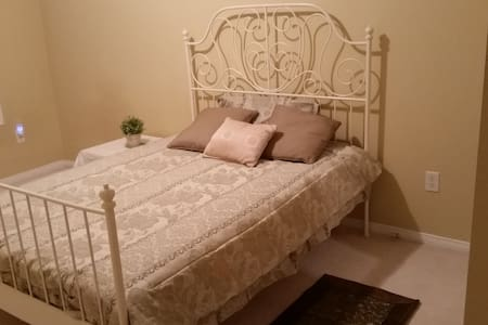 Spacious and comfortable bedroom - Markham