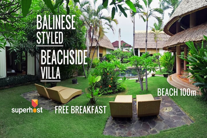 Bungalow A - VR Beachside, Beach - 100m, Seminyak