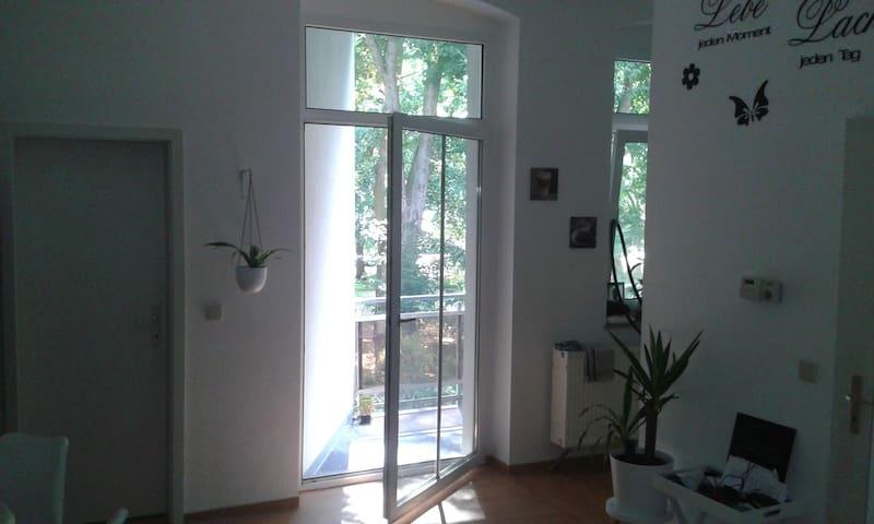 Köthen (Anhalt) - mit Balkon und Blick ins Grüne