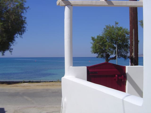 House on the beach - Agia Anna - Ev