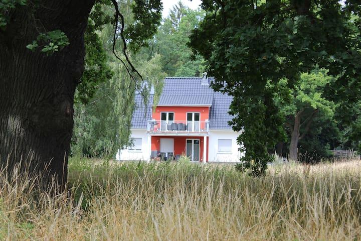 Ferienwohnung am Krakower See - Krakow am See - Lägenhet