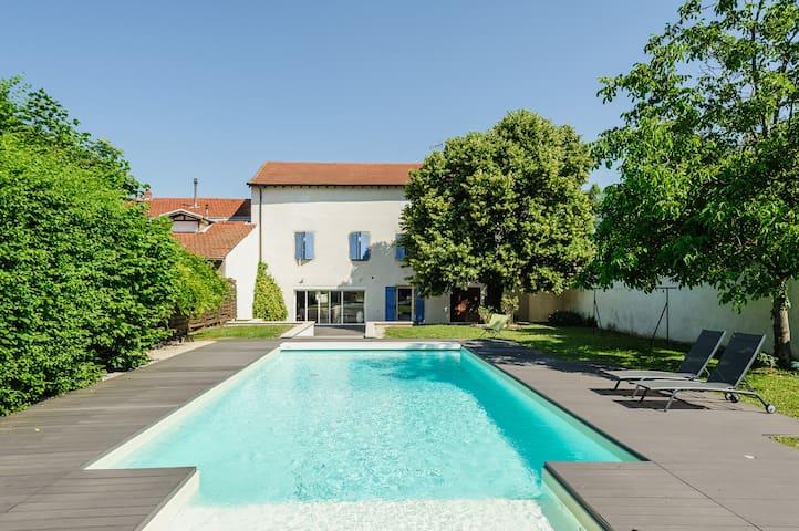 Villa d'exception avec piscine pour 8 personnes