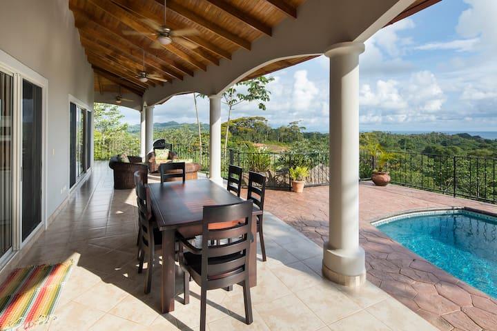 Casa Sea Esta-pool, ocean view, ac, private, BBQ
