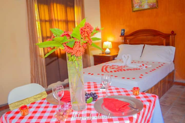 Cabana Sencilla (Una cama Matrimonial)