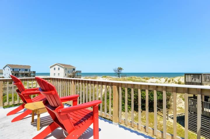 7100 Pelican Oasis * 1 Min Walk to the Beach * Dog Friendly
