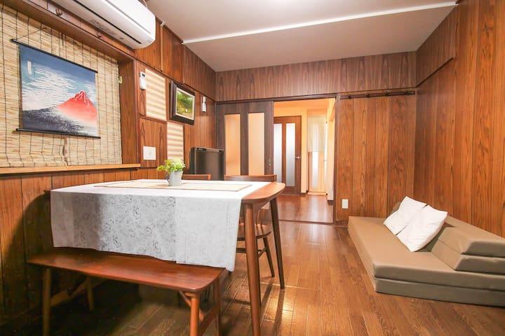 Japanese style 2story house 4min to sta./free wifi - Sumiyoshi-ku, Ōsaka-shi - Casa