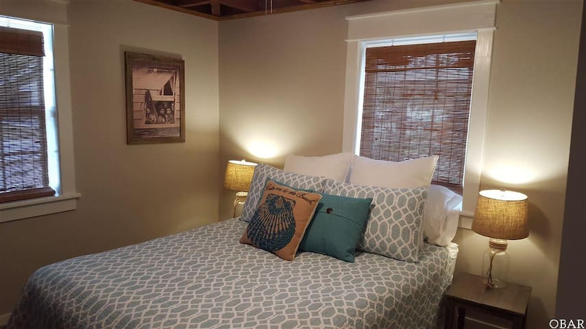 Quiet Beach Retreat Bedroom in OBX! - Kill Devil Hills