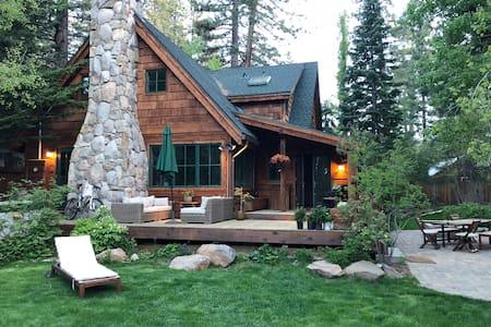 Luxury Tahoe Cabin Close to Beach ~Tahoe City