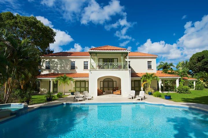 Magnolia House, Sandy Lane. A lovely, luxury home
