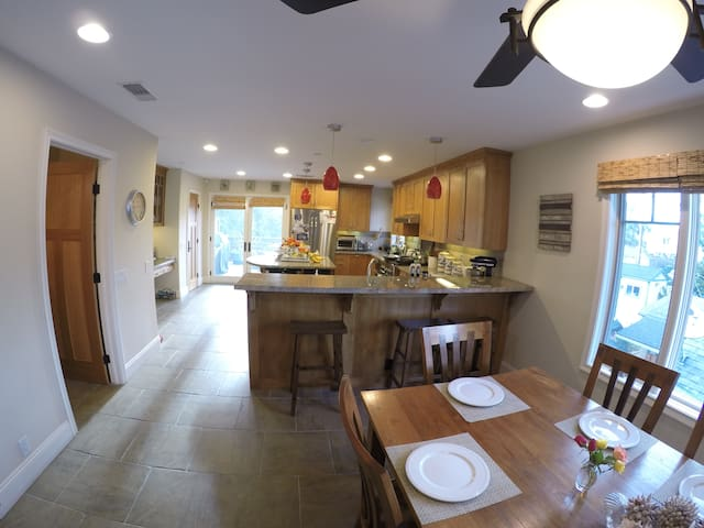 Kitchen and Dining rooms
