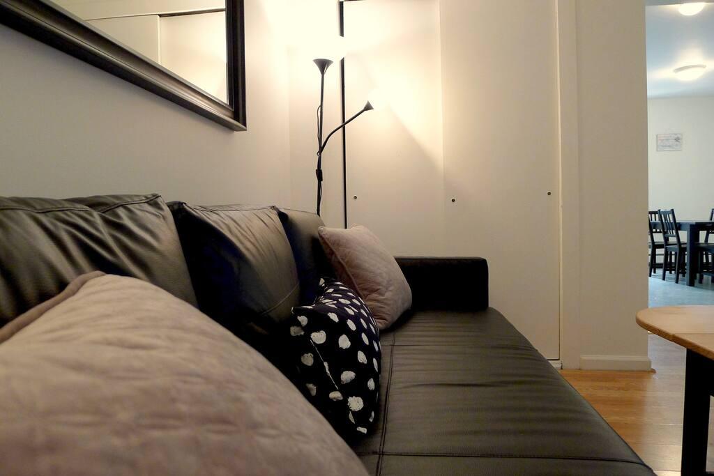 2 extra on the sleeper sofa