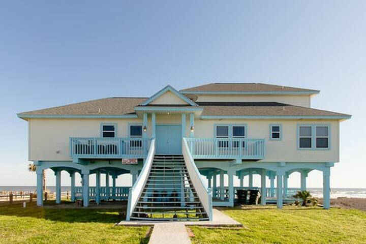 Kahala Beach Front Delight - Galveston - Maison