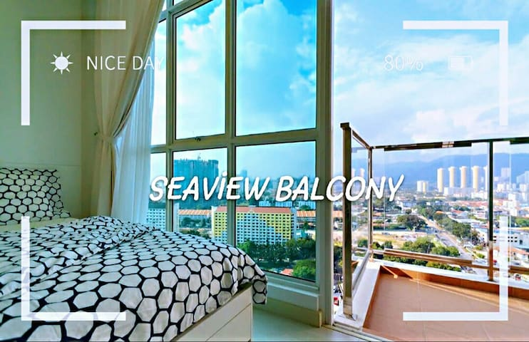 SEAVIEW BALCONY LittleBox海景小盒子|NETFLIX|100MbpsWIFI