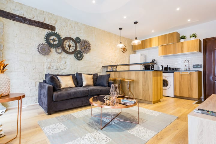 Amazing apartment- 1BR/4P - Montorgueil