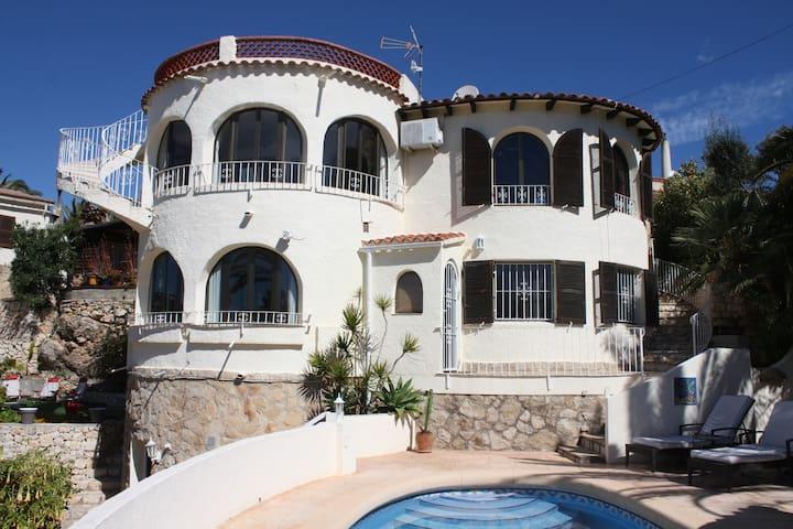 CASA SOLANDRA, 6 personnes, piscine privée