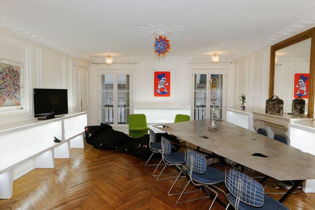 Salon Vue 1/ Living View 2