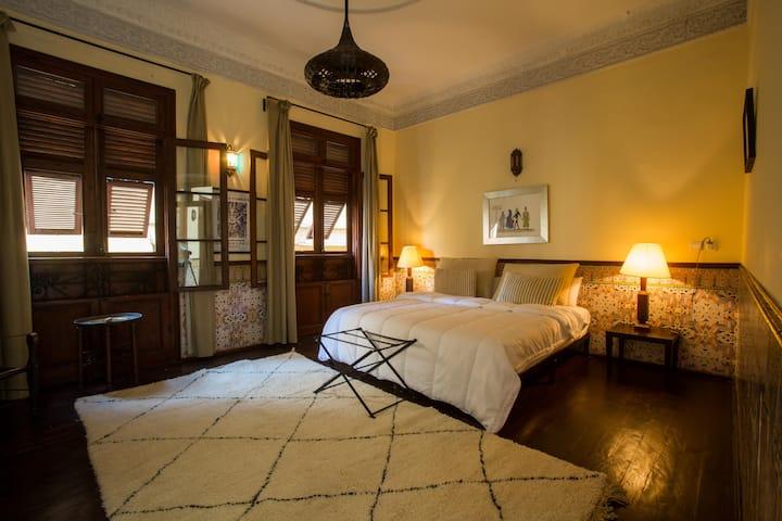 Magnifique Maison Coloniale XIX siecle à Tangier.