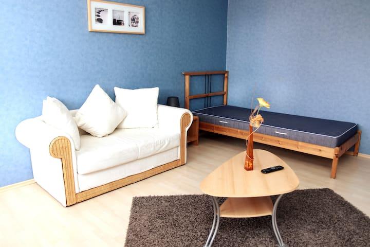 Gemütliche Zimmer am St. Veit Park | 3 BR | Balkon