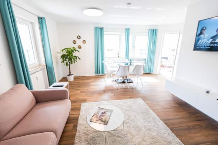 Premium 2 room apartment 10 min Uni, 4 min Center