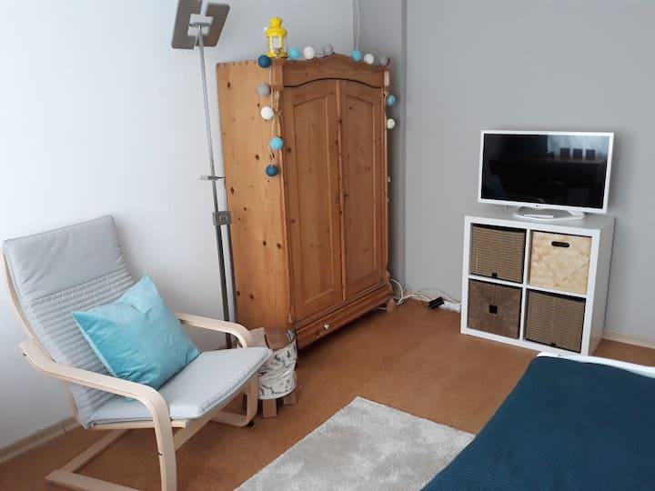 Stilvolles, gemütliches Gästezimmer