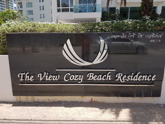 """The View"" Cozy Beach 1"
