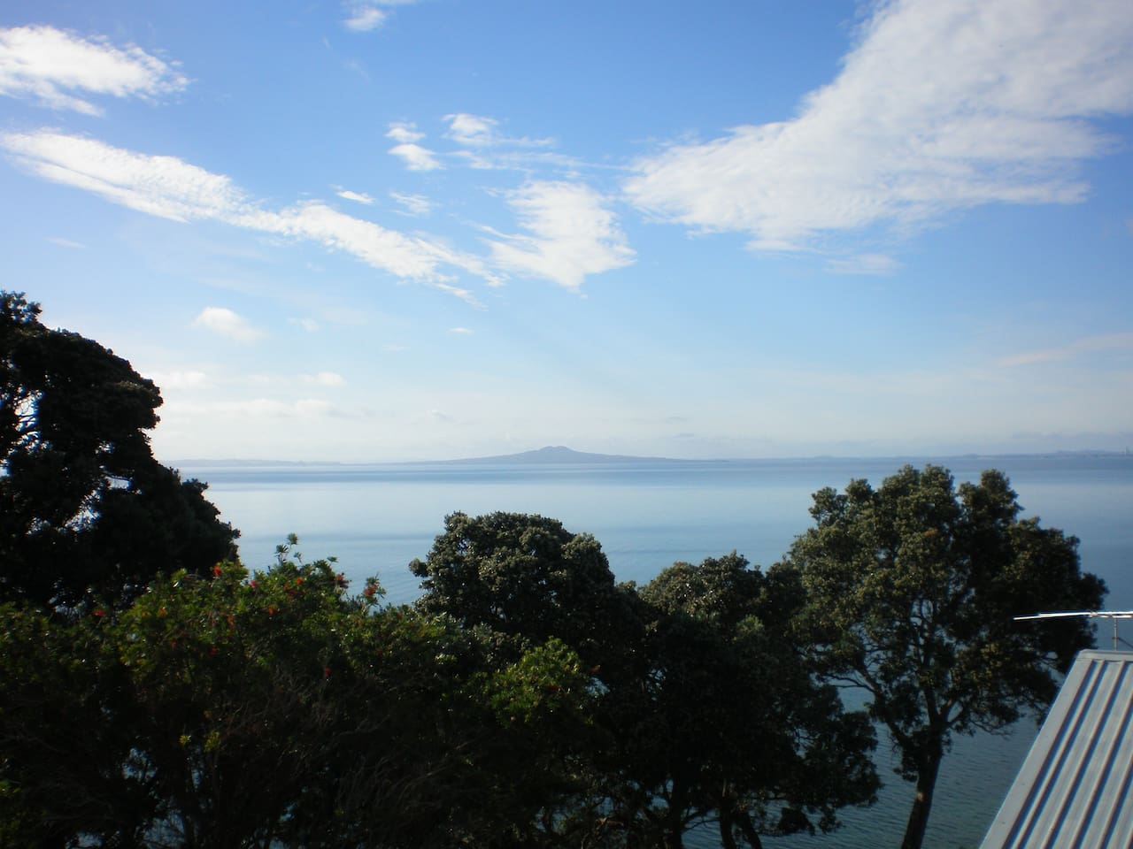 Rangitoto Island - view from the deck