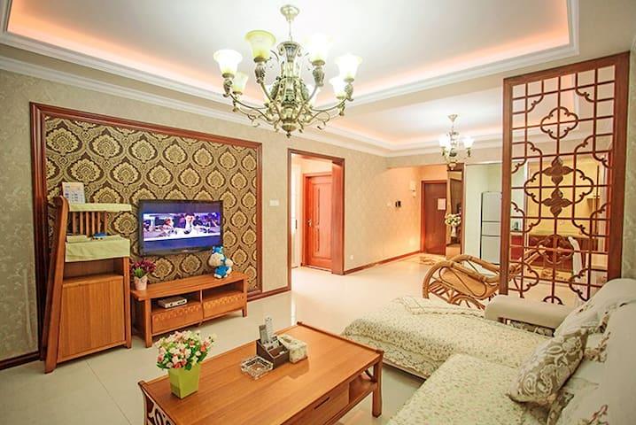 椰梦长廊180°通透全海景豪华观海两房两厅 - Sanya - Lägenhet