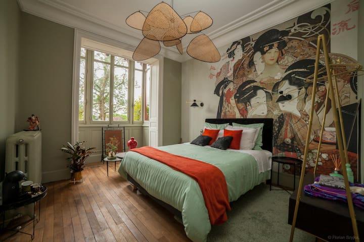 """Villa Alecya - Chambre  """"Madame Butterfly"""""""