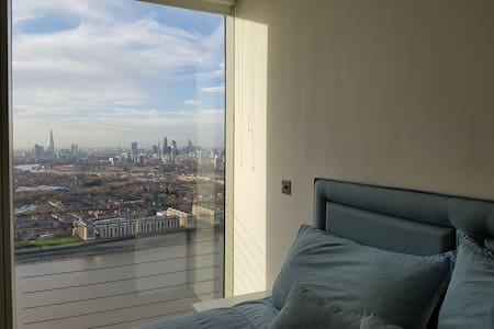 41st floor views over City and Thames - London