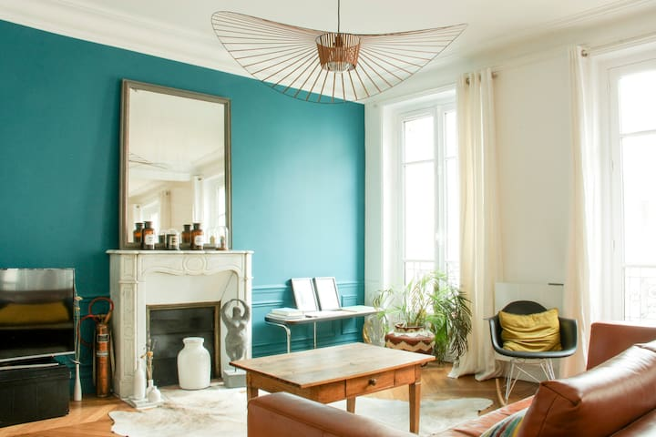 Amazing Peaceful Flat in the Heart of Paris