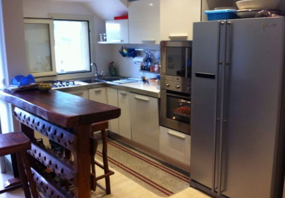 New, furbished high quality kitchen