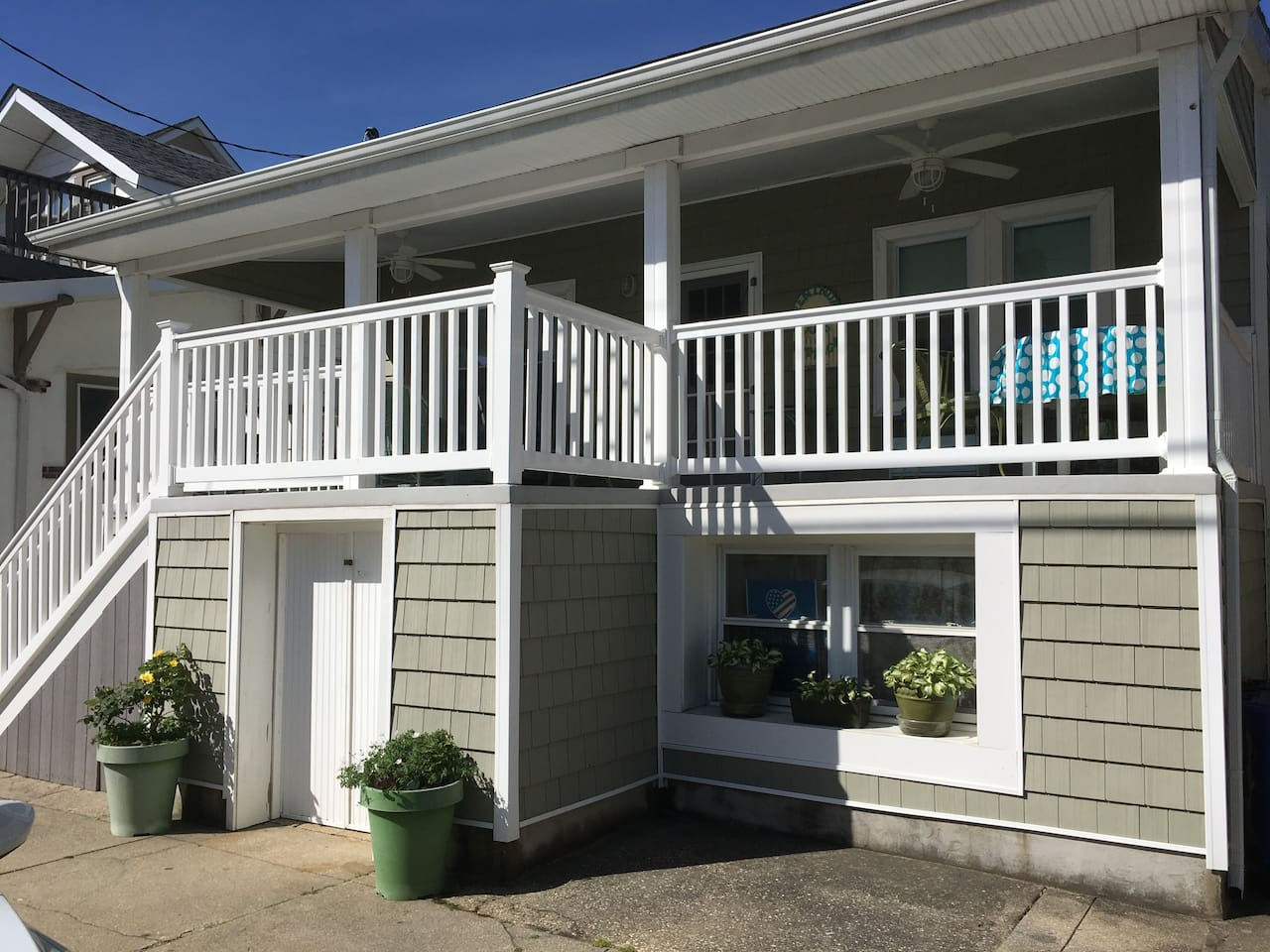 Welcome to Ventnor Happy Ours Cottage.  Our spacious porch is the favorite place for our guests to relax.  Come on in...