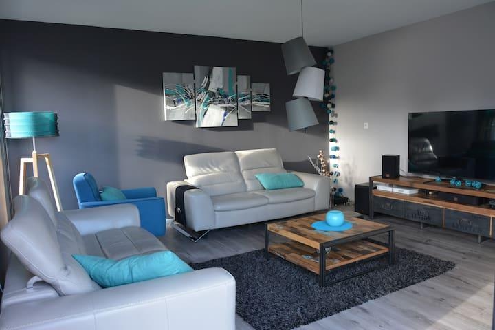 Maison moderne au calme, à 2 pas de FOUGERES - Lécousse - Hus