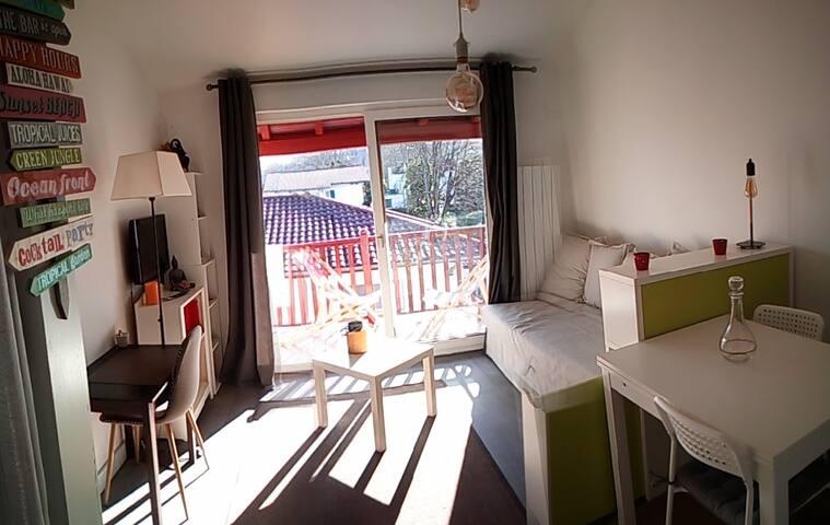 Studio Cambo -les-Bains / Océan et Montagne !