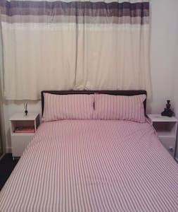 Spacious double room near Glasgow - Huis