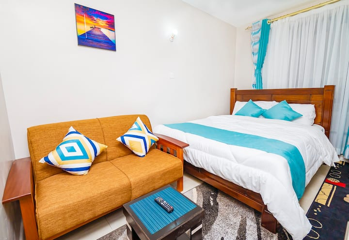 Davu Blue -Elegantly Furnished Studio, R/Top pool