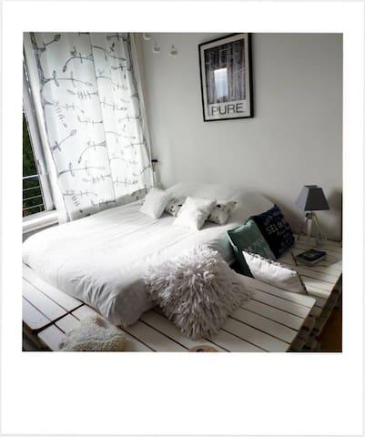 Chambre avec vue sur la Meuse - Charleville-Mézières - Apartment
