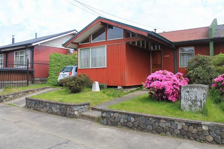 Hermosa casa/full equipada centro Villarrica