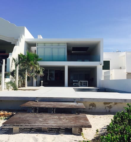 Beach house at Progreso, Mexico. - Progreso - House