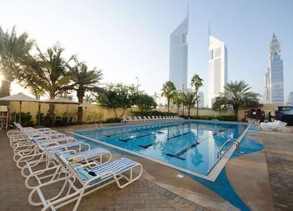 Outside metro-Hotel Apartment! Long term bookings! - Dubai - Wohnung