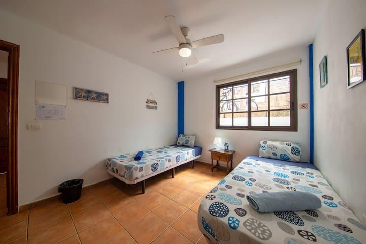 Twin room in Costa Adeje