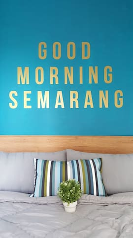 Two Bedrooms in Apartemen Candiland, Semarang